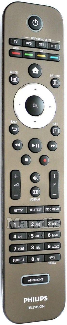 Telecomando originale philips rc 4495 01 312814721441 for Telecomando philips