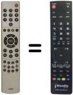 telecomando nordmende originale  Telecomandi NORDMENDE - Pagina78